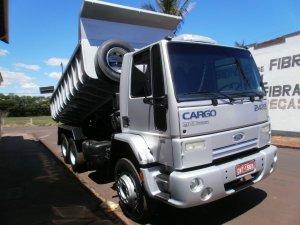 Ford Cargo 2422 08 Truck Cacamba Cravinhos Classificadosdegraca