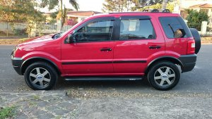 Ford EcoSport 2007, Manual