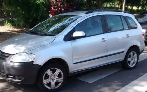 Volkswagen SpaceFox 2008, Manual, 1,6 litres