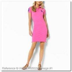 b93bfde187 Polo Ralph Lauren. Vestido. Cor-de-rosa. MP192CA - Moda feminina ...