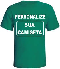 217144fb8 Crie sua camiseta personalizada